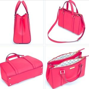 Kate Spade Newbury Lane Small Loden dynasty red